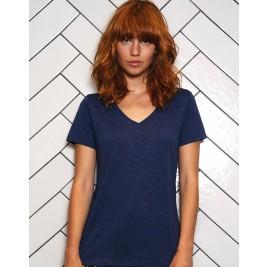 Triblend V-Neck T-Shirt Women - TW058
