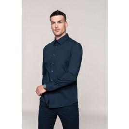 MEN'S LONG SLEEVE STRETCH SHIRT