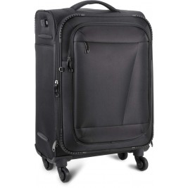 CABIN SIZE TROLLEY SUITCASE WITH POWER BANK CONNECTOR
