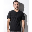 James - Men's Organic V-Neck T-Shirt