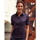 Ladies' Roll 3/4 Sleeve Shirt