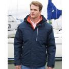 Rugged Denim Texture Jacket