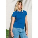 LADIES' ORGANIC PIQUÉ SHORT SLEEVE POLO SHIRT
