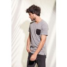 ORGANIC COTTON T-SHIRT WITH POCKET