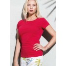 LADIES' ORGANIC COTTON CREW NECK T-SHIRT