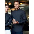 Kariban Men's Long Sleeve Mandarin Collar Shirt