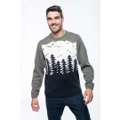 CHRISTMAS TREE MOTIF JUMPER