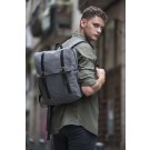 FLAP-TOP CANVAS BACKPACK