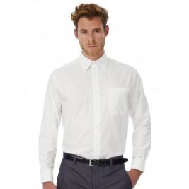 Men's Oxford LS Shirt - SMO01