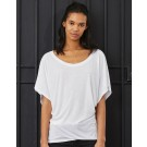 Flowy Draped Sleeve Dolman T-Shirt