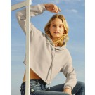 Women`s Cropped Fleece Hoodie