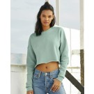 Women`s Cropped Crew Fleece