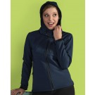 Ladies Hooded Softshell
