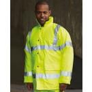 Hi-Vis Tartan Contractor Jacket