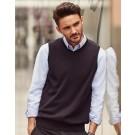 Mens V-Neck Sleeveless Knitted Pullover