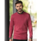 Men`s Crew Neck Knitted Pullover