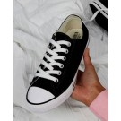 Low Top Printable Canvas Shoe/Unisex