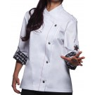 Fashionable Rock Chef's Ladies' Jacket