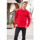 PREMIUM COTTON® ADULT LONG SLEEVE DOUBLE PIQUÉ POLO