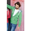 MEN'S ZIP HOODED VINTAGE SWEATSHIRT